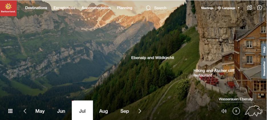 My Switzerland website